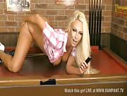 Lucy Summer's hot Babestation night show